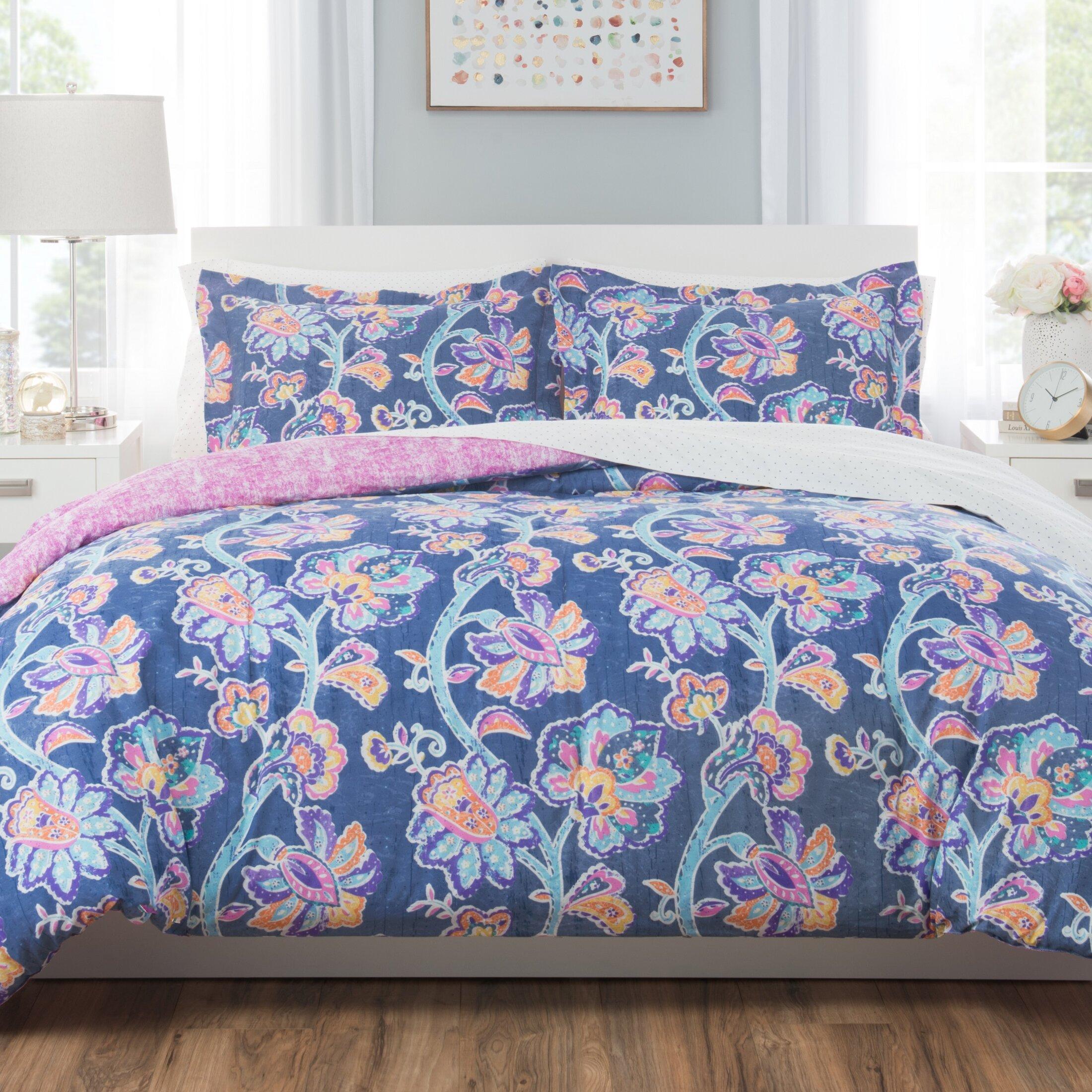 Nicole Miller Reversible Comforter Set Reviews Wayfair