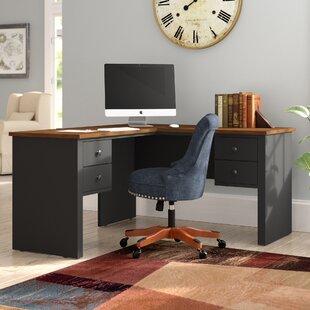 Red Barrel Studio Deweese L-Shape Executive Desk