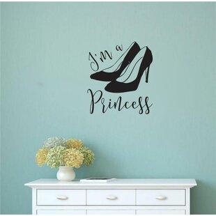 Meinhardt I'm a Princess Vinyl Words Wall Decal ByHouse of Hampton