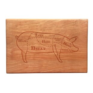 Wood Butcher's Cut Artisan Cutting Board