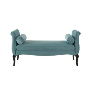 McManus Upholstered Bench by Canora Grey