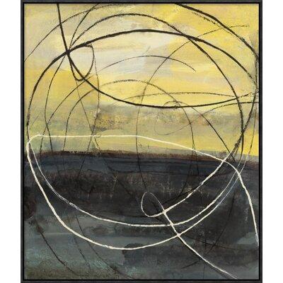 Global GalleryAlbena Hristova Circle Rain v2 Giclee Stretched Canvas Artwork 24 x 24