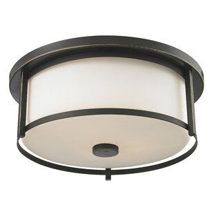 Breakwater Bay Crumley 3-Light Flush Mount