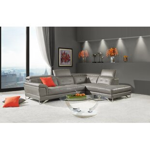 Steadman Leather Sectional