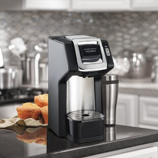 Hamilton Beach 1-Cup FlexBrew® Single-Serve Plus Coffee Maker