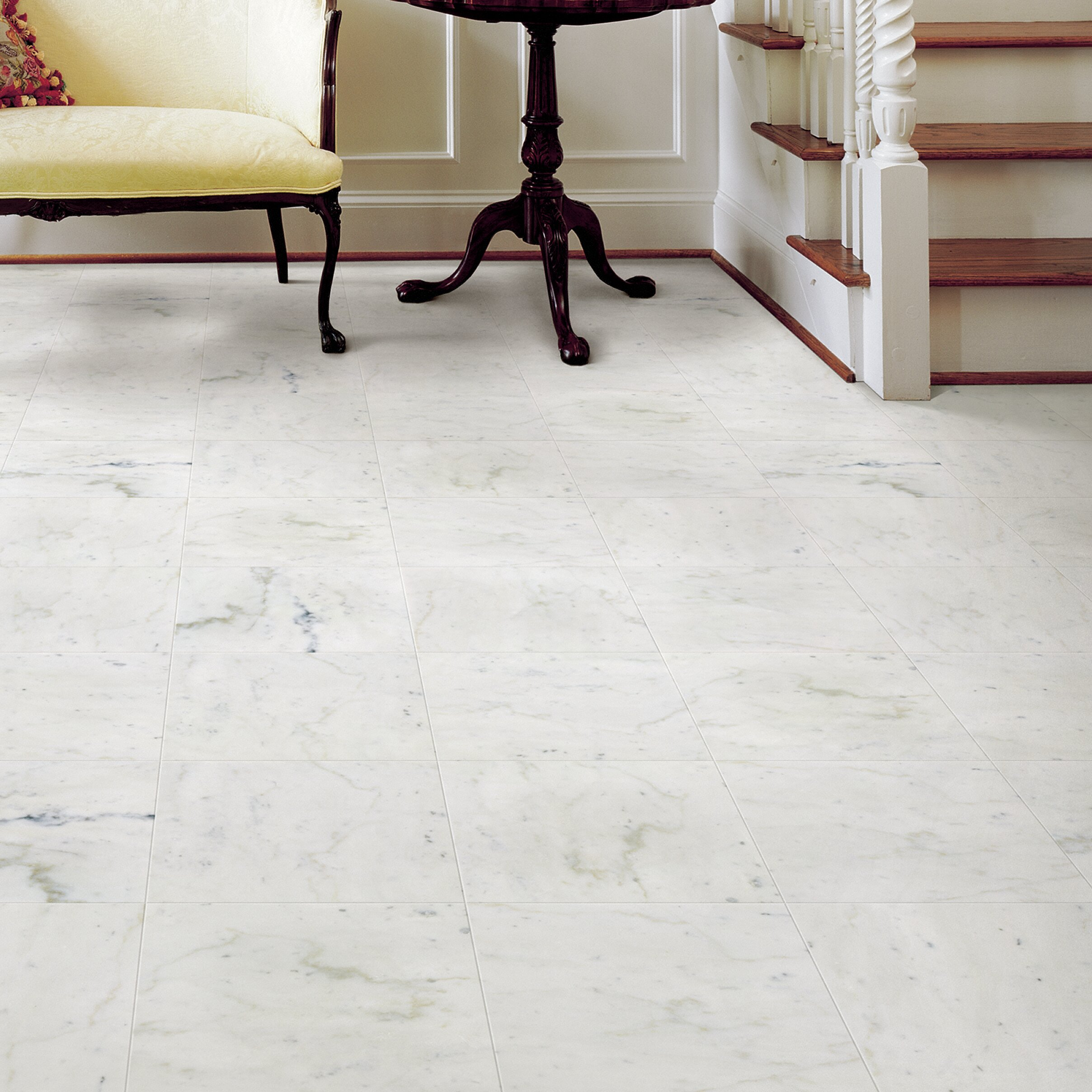 Msi Arabescato Carrara 12 X 12 Marble Field Tile Reviews