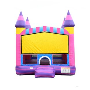 Cotton Candy Bounce House By JumpOrange