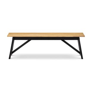Mulford Wood Bench By Mercury Row