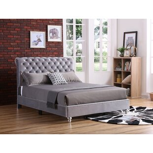 Loc Tufted Upholstered Panel Bed by Everly Quinn