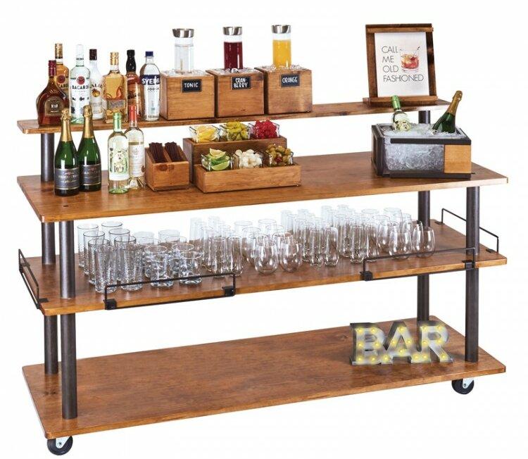 Cal Mil Madera U Build Bar Cart Wayfair