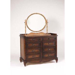 Letendre 8 Drawer Double Dresser