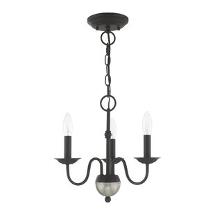 Goodall Mini 3-Light Candle Style Chandelier