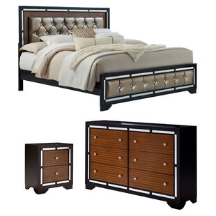Landrum Upholstered Panel Configurable Bedroom Set by Orren Ellis