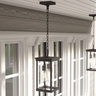 Three Posts Mccombs 3-Light Outdoor Hanging Lantern