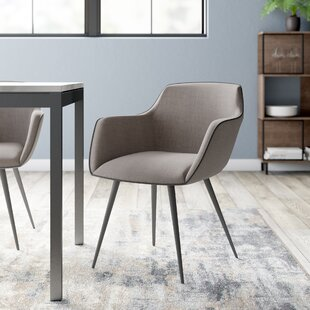 Upholstered Dining Chair By Angel Cerda