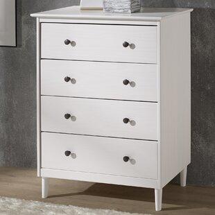 Lafever 4 Drawer Dresser by Mercury Row