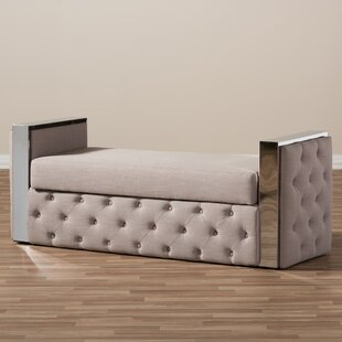 Utley Upholstered Storage Bench by Orren Ellis