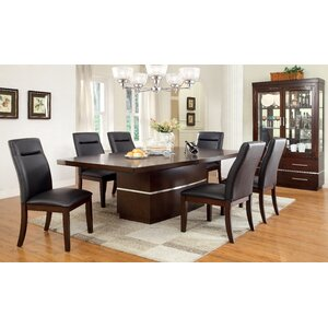 cherry dining room set. Feagin 7 Piece Dining Set Cherry Kitchen  Room Sets You ll Love Wayfair