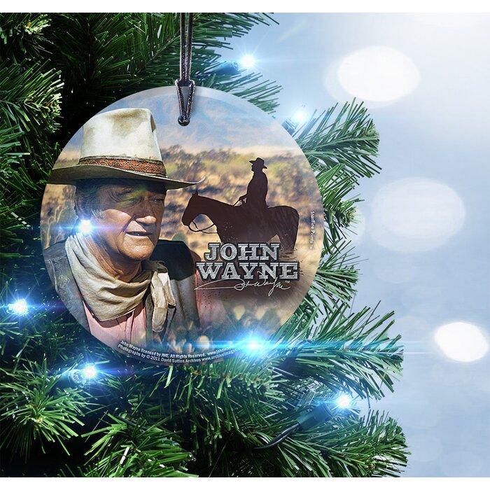 Trend Setters John Wayne (The Legend) Hanging Shaped Ornament ...