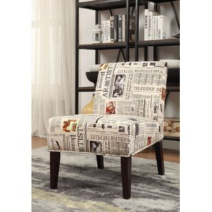 Doody Fabric Slipper Chair by Ebern Designs