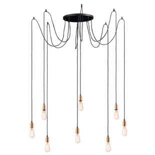 Golden Valley 8-Light Cluster Pendant by Gracie Oaks