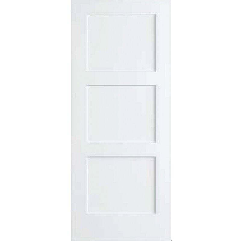 Kiby 3 Panel Shaker Solid Wood Paneled Slab Interior Door Reviews
