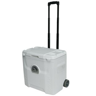 28 Qt. Ultra Roller Cooler by Igloo