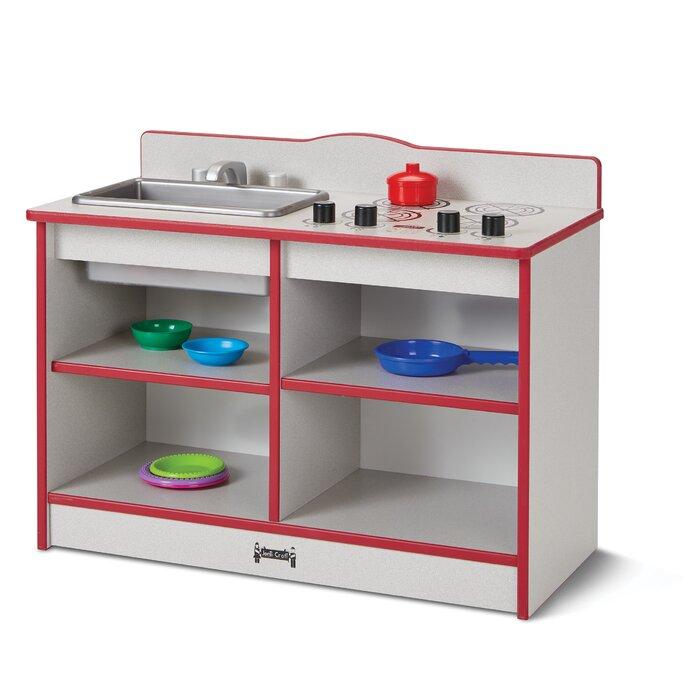 Rainbow Accents® Toddler Kitchen Set