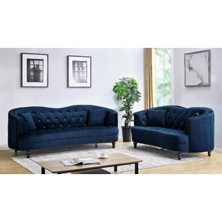 Areli 2 Piece Living Room Set by Rosdorf Park SKU:EE661643 Shop