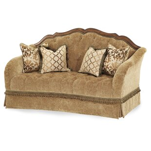 Shop Villa Valencia Standard Loveseat by Michael Amini