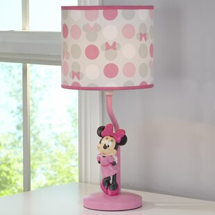 Mickey mouse lamps wayfair disney minnie mouse 16 table lamp aloadofball Images