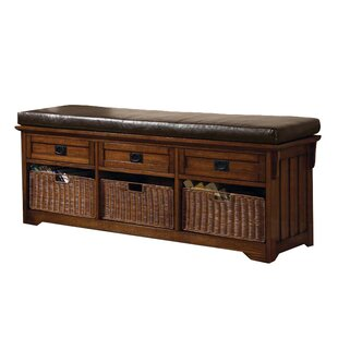 Wildon Home ® Upland Wooden Storage Bench