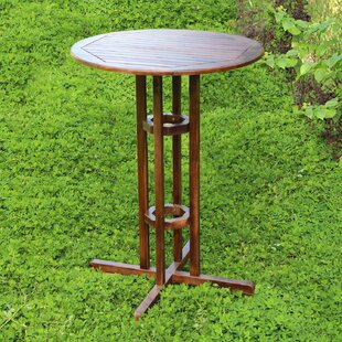 Beachcrest Home Pine Hills Bar Table
