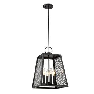 Diedrich 4-Light Lantern Pendant by Williston Forge