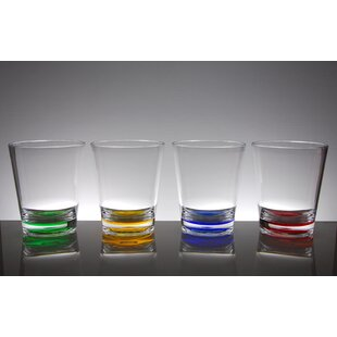 Funchess 8-Piece 16 oz. Plastic Drinking Glass Set