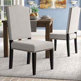 Montecito Upholstered Dining Chair (Set of 2) Alcott Hill