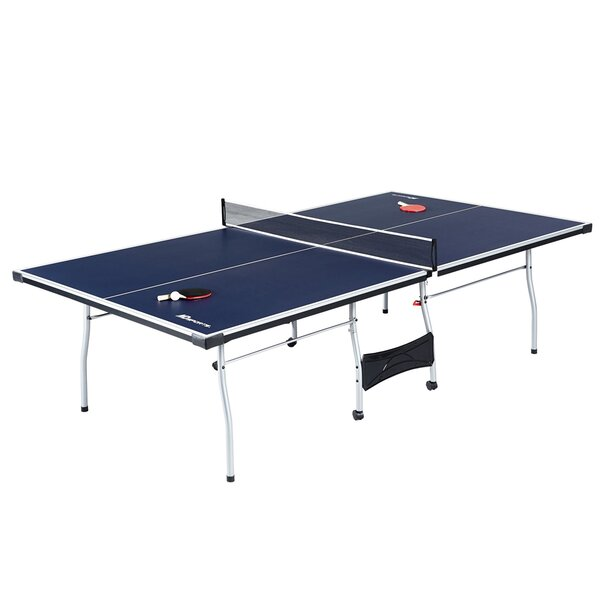 Butterfly Nippon 22 Table Tennis Table Built Like A Tank Net Set Folds On Wheels 5 Year Warranty 22mm Ping Pong Top