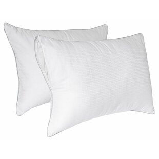 Tailor Fit Downier Fiberfill Zippered Pillow Enhancer (Set of 2)