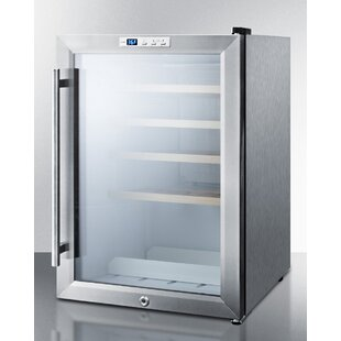 Commercial Compact Single Zone Freestanding Wine Cellar by Summit Appliance