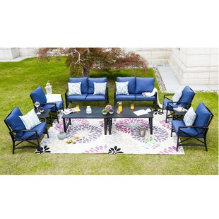 Places to buy  Renteria 10 Piece Sofa Seating Group with Cushions Affordable Price