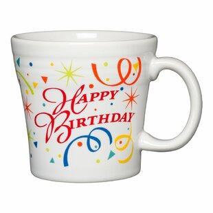 Celebration Happy Birthday Tapered Coffee Mug