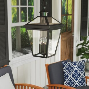 Online Reviews Coleg 4-Light Outdoor Hanging Lantern By Darby Home Co