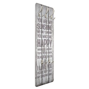 Quiroz Wall Mounted Coat Rack By Happy Larry
