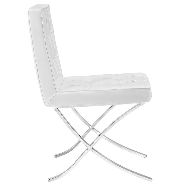 Terrific Trieste Memory Foam Side Chair Gmtry Best Dining Table And Chair Ideas Images Gmtryco