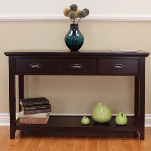 Dravin 3 Drawers Console Table by Red Barrel Studio