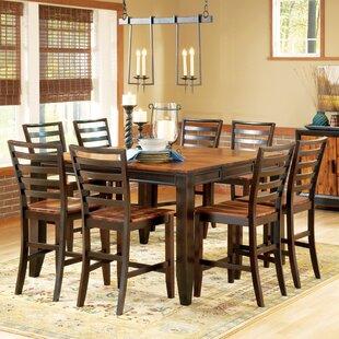 Millwood Pines Hidalgo 9 Piece Counter Height Dining Set