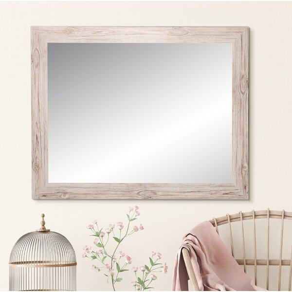 Rustic Shabby Chic Mirrors - Samual Farmhouse Charm Rustic Accent Mirror