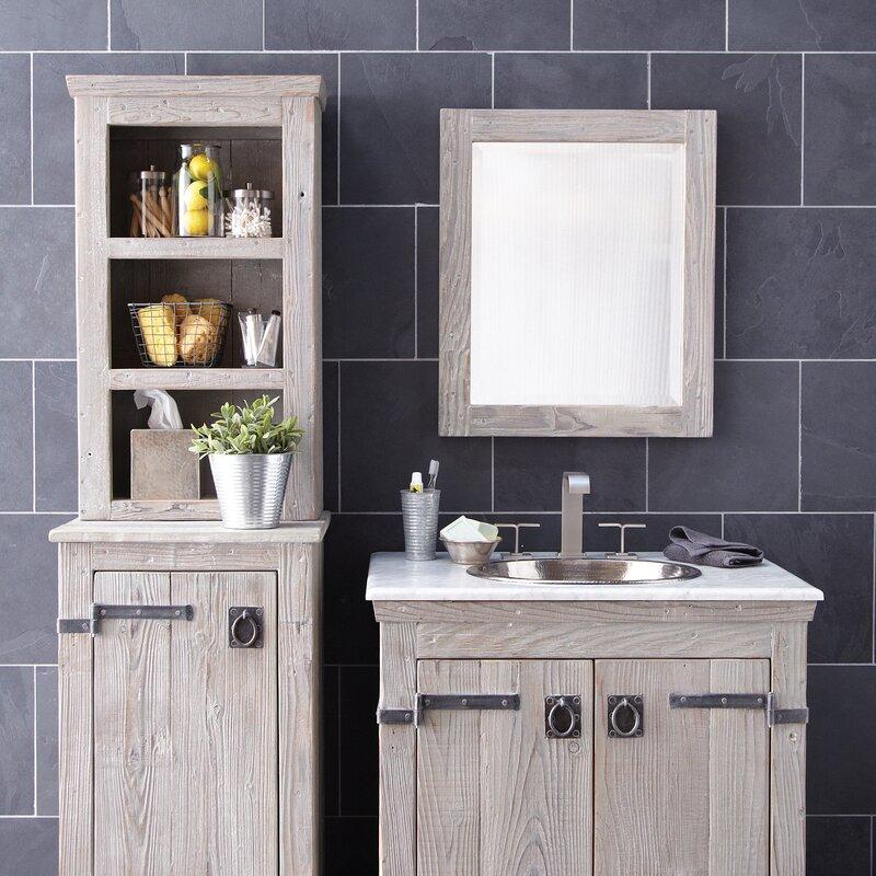 Native Trails Americana Cottage Country Beveled Bathroom Vanity Mirror Reviews Wayfair