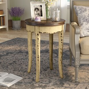Affordable Ardin Vintage Style End Table ByOphelia & Co.