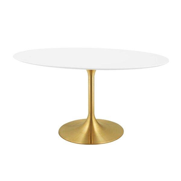 Charming Langley Street Julien Oval Dining Table U0026 Reviews   Wayfair